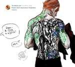 The Witcher Ask 9 сен 2016 в 18:02 Рисуем своего персонажа в татуировках. Ответить