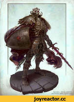 Berserk - Skull knight. Artwork: Joel Lagerwall