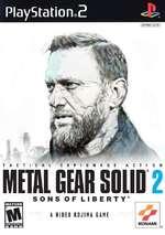 PlayStation.2 fNTSC 1 U/C 1 SONS OF LIBERTY A HIDEO KOJIMA GAME