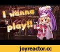 【Touhou Short Film】I wanna play!!,Music,flandre Scarlet,U.N. Owen was her?,Patchouli Knowledge,Touhou,フランドール,パチュリー,東方,東方紅魔郷,「Hey, can you quiet me? Don't raise up dust.」 「Here we go looby loo♪ Here we go looby light♪」