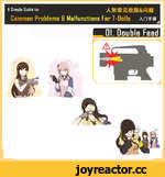 A Simple Guide to:  Common Problems B Malfunctions For T-Dolls Ar№fflf 01. Double Feed