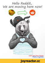 Hello Redditj VJe are moving Were now! With love from Russia Pikabu migrants