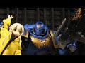 "Potato Reviews: Bandai Primaris Intercessor Space Marine ""URODtra Marine"",Film & Animation,bandai,stop motion,space marine,primaris intercessor,warhammer 40k,warhammer,ultramarine,ultra marine,moonshine animations,animation,potato,kartoshka,reznya,liliya reznya,Bandai's Warhammer 40k Space Marine."