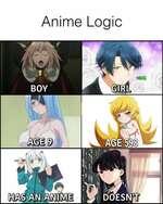 Anime Logic an m\m DOESNkTi